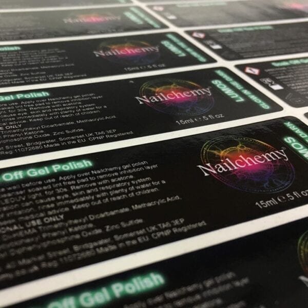 waterproof vinyl labels