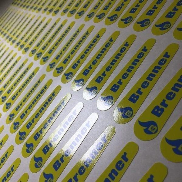 Custom Sized Stickers