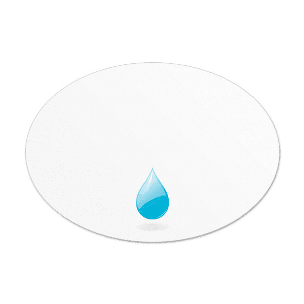 Oval Waterproof Labels