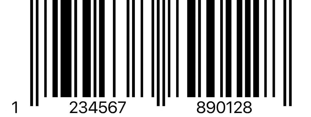 EAN 13 Barcode